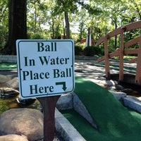 Photo taken at Memphis Miniature Golf by Rick U. on 8/24/2013