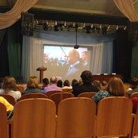 Photo taken at Актовый Зал СГУПС by Екатерина Б. on 8/30/2014