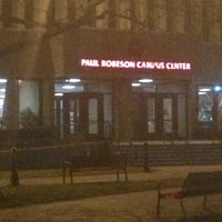 Photo taken at Paul Robeson Campus Center by rob b. on 12/12/2012