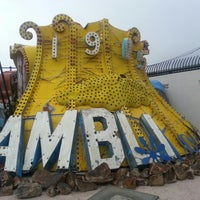 Photo taken at The Neon Museum by Victoria S. on 3/9/2013