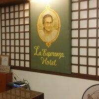 Photo taken at La Esperanza Hotel by Filbert S. on 8/1/2014