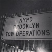 Photo taken at Brooklyn Tow Yard by Rich C. on 11/21/2013