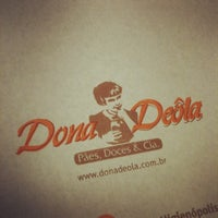 Photo taken at Dona Deôla by Denis P. on 11/29/2012
