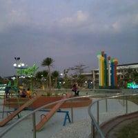 Photo taken at Madiun City Park by Fauziah E. on 9/30/2013