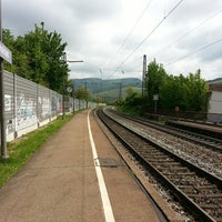 Photo taken at Bahnhof Schallstadt by Ö💤Y on 5/2/2014