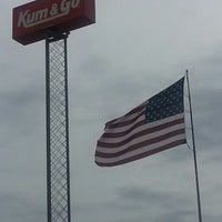Photo taken at Kum & Go by Sativa V. on 6/8/2013