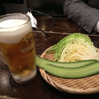 Photo taken at 日南市じとっこ組合 新小岩店 by 兵頭 教. on 3/1/2013