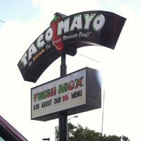 Photo taken at Taco Mayo by Frank M. on 7/1/2013
