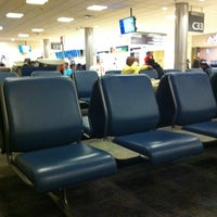 Photo taken at Concourse C by Frank M. on 3/26/2013