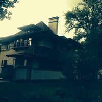 Photo taken at Frank Lloyd Wright Home and Studio by Steven T. on 8/10/2015