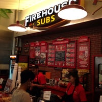 Photo taken at Firehouse Subs by Wilfred F. on 1/5/2014