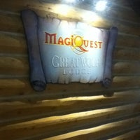 Photo taken at MagiQuest at Great Wolf Lodge by Diana W. on 3/20/2013