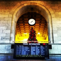 Photo taken at New Haven Union Station (NHV) - Metro North/Amtrak/Shore Line East by Peter M. on 1/3/2013
