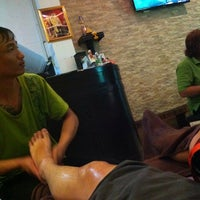 Photo taken at Khao San Thai Massage by Ken Q. on 6/19/2014