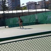 Photo taken at ITF Uluslararasi Bayan Tenis Turnuvasi by Ahmet Y. on 4/21/2014