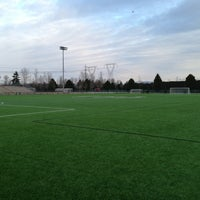 Photo taken at Newton Athletic Park by Colin M. on 3/24/2013