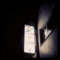 Photo taken at Nijuyonken Station (T04) by 李月 王. on 10/24/2013