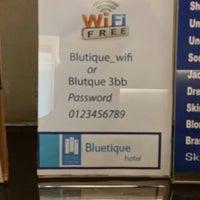 Photo taken at Blutique Hotel by William on 10/15/2014