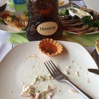 Photo taken at Ресторан «Горка» by Vladimir I. on 8/8/2014