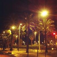 Photo taken at Ronda Litoral (Zona Poble Nou) by Imanol A. on 1/20/2013