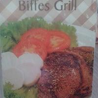Photo taken at Biffes Grill by Fabiane L. on 7/25/2014