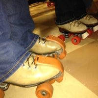 Photo taken at Rainbow Roller Rink by Brandy P. on 9/29/2012