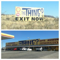 Photo taken at The Thing? by Brandy P. on 12/28/2012