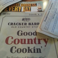 Photo taken at Cracker Barrel Old Country Store by Cheryl on 2/17/2013