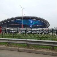 Photo taken at Kazan-Arena by Andrey R. on 7/31/2013