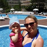 Photo taken at Pool Mediterraneo by Iuliia O. on 5/31/2014