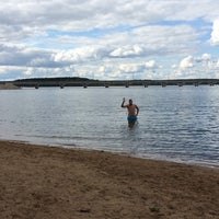 Photo taken at ICE beach by Jenny T. on 8/23/2014