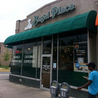 Photo taken at Bagel Place of College Park by JR R. on 7/1/2013