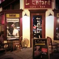 Photo taken at L'Enfant Café by JR R. on 3/28/2014