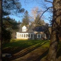 Photo taken at Eleanor Roosevelt National Historic Site by Stephen C. on 11/23/2012
