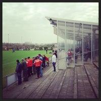 Photo taken at Voetbalvereniging DVV by Tijs T. on 4/21/2013