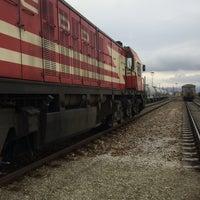 Photo taken at yahşihan tren İstasyonu by Yusuf Y. on 2/11/2016