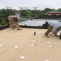Photo taken at A-1 Roofing's Kanga Roof by Maurice H. on 7/7/2016