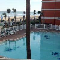Photo taken at Holiday Inn & Suites Virginia Beach- North Beach by Craig L. on 11/22/2014