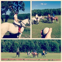 Photo taken at Stockholm Polo Cub by Carl F. on 8/25/2013