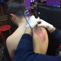 Photo taken at KissİNK-TattooShop by TC Çağdaş Ç. on 12/3/2016