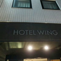 Photo taken at Hotel WING International by Ryusuke K. on 11/26/2016