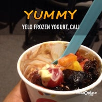 Photo taken at Yelo Frozen Yogurt by Daniel S. on 10/8/2013