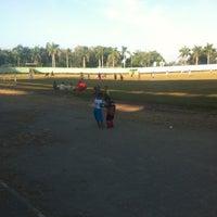 Photo taken at Stadion Ganggawa by Charlien M. on 3/7/2013