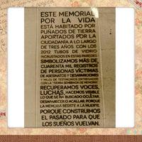 Photo taken at Centro De Memoria, Paz Y Reconciliacion by Alejandra R. on 4/10/2013