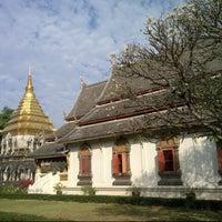 Photo taken at Wat Chiang Man by tik, kub pom on 12/26/2012