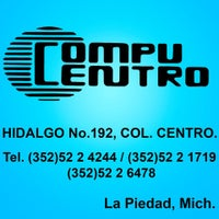 Photo taken at CompuCentro La Piedad by Soy Cliente Consentido La Piedad on 4/16/2014