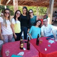 Photo taken at Camping e Pousada do Saci by Camila C. on 6/7/2014