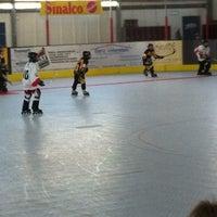 Photo taken at Inlinehockeyhalle Assenheim by Michael H. on 5/12/2013