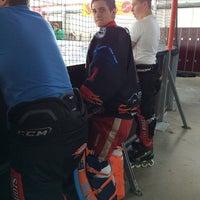 Photo taken at Inlinehockeyhalle Assenheim by Michael H. on 6/15/2014