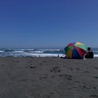 Photo taken at Playa San Antonio by Natalia V. on 12/16/2012